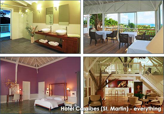 Hotel Caraibes (St. Martin), everything